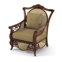 Outdoor Wicker Terrace Chair by Fiji