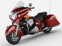 3d model of indian chieftain 2014