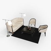 Living Room Furniture Set 01