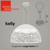 studio italia design kelly 3d model