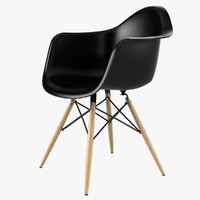 Daw Plastic Chair by Charles Ray Eames