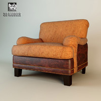 3d model francesco molon armchair