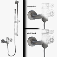 Bath Faucets with Handshower 01