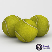 tennis ball 3d 3ds