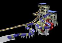theme park slide
