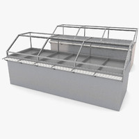 Canteen Kitchen Metal Storage Freezer Cooler School