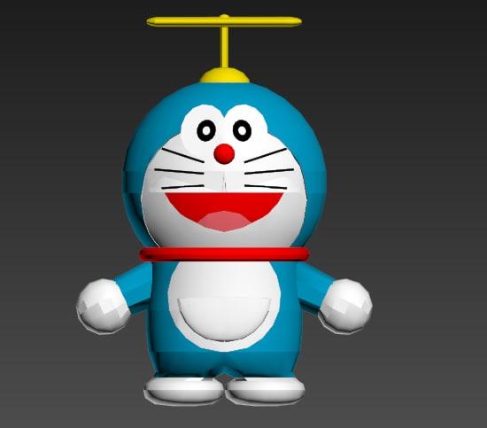 Doraemon 3d Game: Doraemon Character X