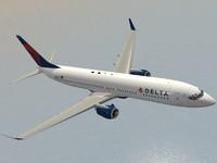 3d model boeing 737-900 er delta