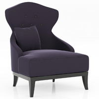 3d model brabbu tuareg armchair