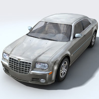 city luxury chrysler c 3d model