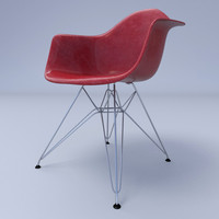 Eames Arm Chair Wire Base