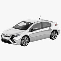 3d model opel ampera 2012
