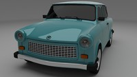 3d trabant 601