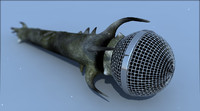free max model heavy metal microphone