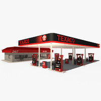 Texaco Petrol Station
