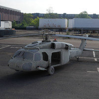 3d helicopter litary model