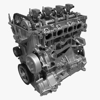 4 Cylinder Engine Block 01