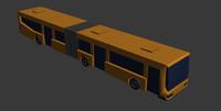 3d bus printing model