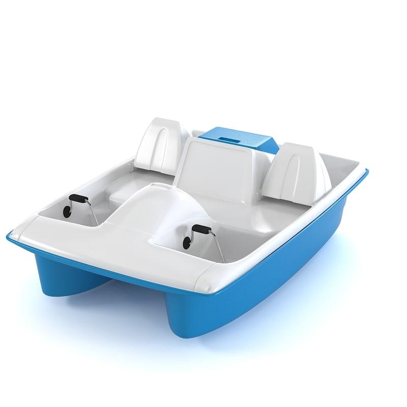 Catamaran Water Wheeler Pedal Boat water bike0001.jpg