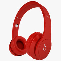 3d model of headphones monster beats