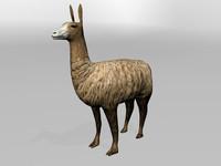 3d model llama lama