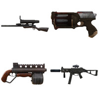 pistol rifle sniper 3d 3ds