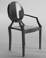 3d model chair philippe starck
