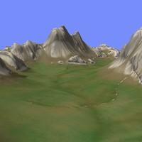 3d metay terrain km-02