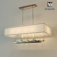 hudson valley chandelier 3d model