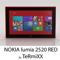 Nokia Lumia 2520 RED