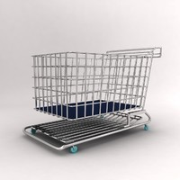 cart trolley 3d model