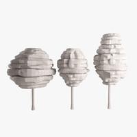conceptual trees architectural concepts 3d max