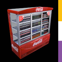 drinks fridge coca-cola ledo 3ds