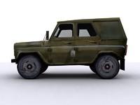 3d uaz-31514 uaz