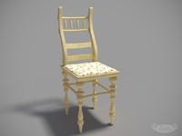 "chair ""Russian Baroque"
