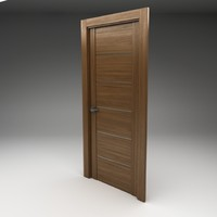 3ds max - tech door