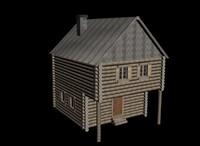 House wood 2 level