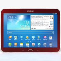Samsung Galaxy Tab 3 10.1 P5200 Red
