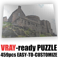 3d puzzle 459 pieces model