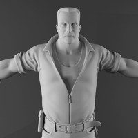 male character 3d model