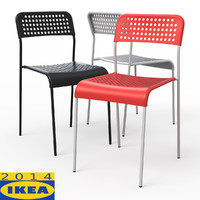3d model adde dining chair