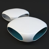 BONALDO PEBBLE COFFEE TABLE