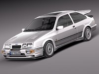 ford sierra 3D models