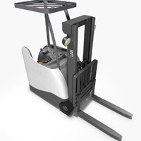 3-Wheel Stand-Up Counterbalance Forklift