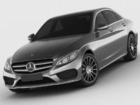 3d model mercedes c class