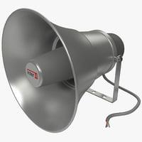 paging horn speaker hs 3d odel