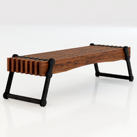 Restoration Hardware Kinetic Narrow Coffee Table