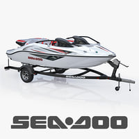 sea-doo speedster 200 trailer 3d 3ds