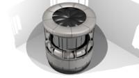 3d dropper portal 2 model