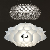 3d model foscarini ceiling lamp light bulb